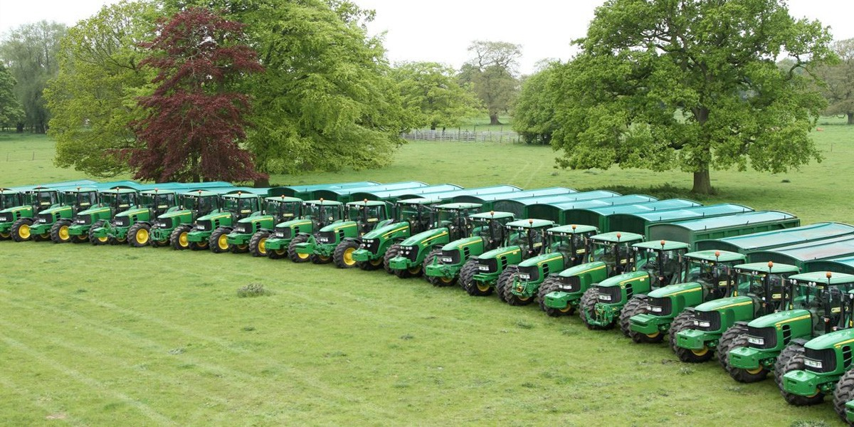 AJ Saul - Tractors for hire