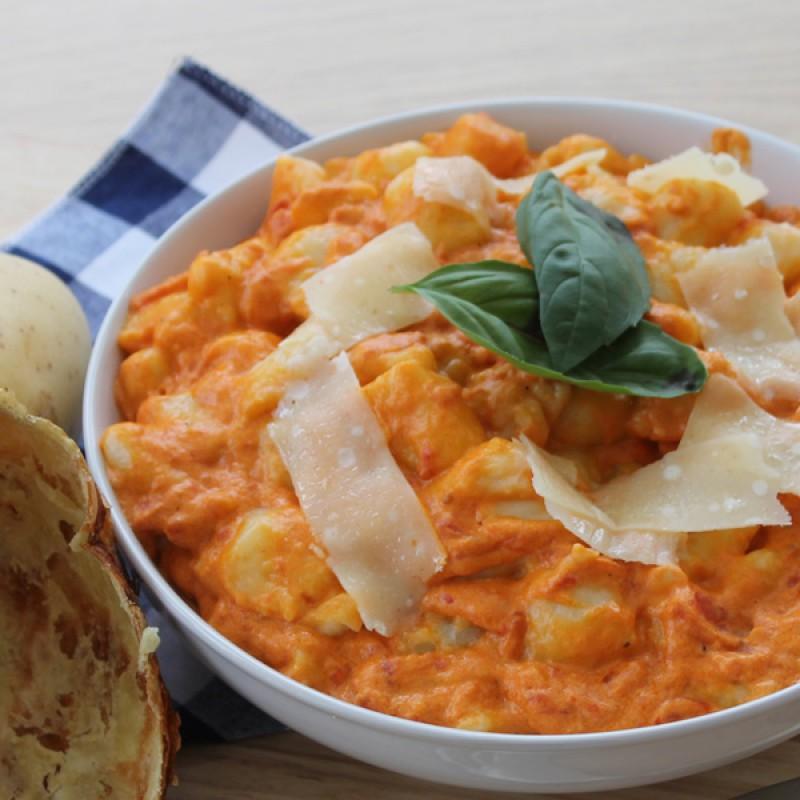 Gnocchi with Creamy Tomato Sauce